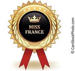 signorina, premio, francia