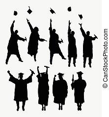 silhouette, graduazione
