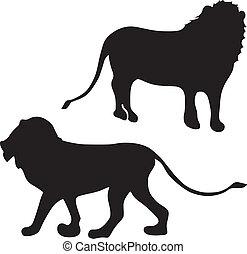 silhouette, leone