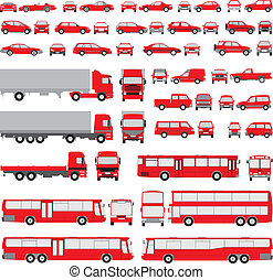 silhouette, vehicle-assorted