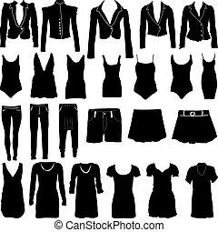 silhouette, womens, abbigliamento