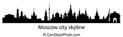 siluetta skyline, mosca, 6