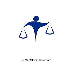 simboli, avvocato, persone, logotipo, affari