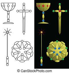 simboli, bagatto