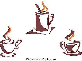 simboli, caffè