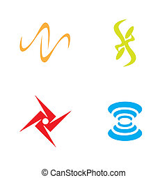 simboli, collezione, creativo