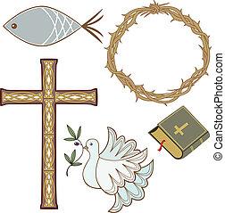 simboli, cristiano, collezione