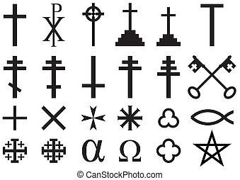 simboli, cristiano, religioso