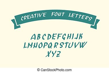 simboli, font, carattere, scritto mano