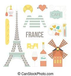simboli, francese
