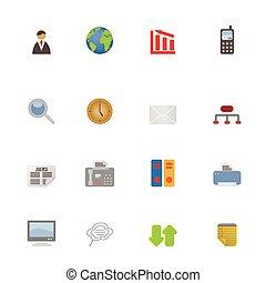 simboli, icone affari