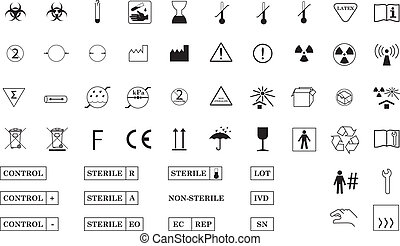 simboli, internazionale, medico