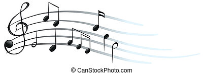 simboli, note, musicale