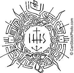 simboli, religioso, cristiano