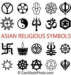 simboli, religioso, vario