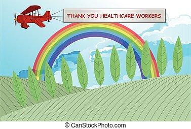 simbolo arcobaleno, sostegno