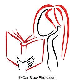 simbolo, biblioteca
