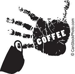 simbolo, caffè