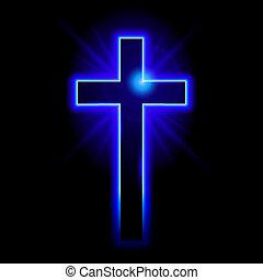 simbolo, cristiano, crocifisso