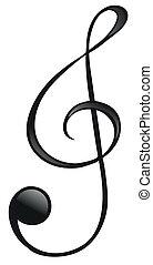 simbolo, g-clef