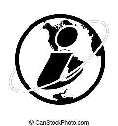 simbolo informazioni, vettore