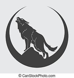 simbolo, lupo