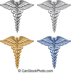 simbolo medico, caduceo