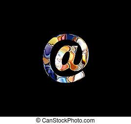 @ simbolo, multicolor