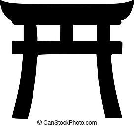 simbolo, shinto