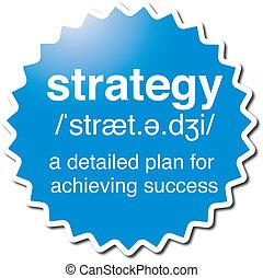 simbolo, strategia