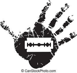 simbolo, suicidio