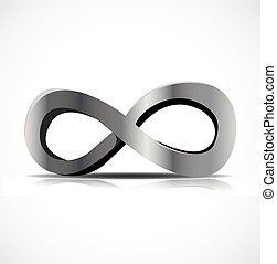 simbolo, vettore, infinità
