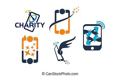 sinergia, mobile, set, soluzione