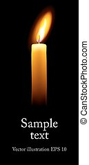 singolo, candle.