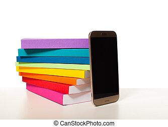 smartphone, biblioteca elettronica