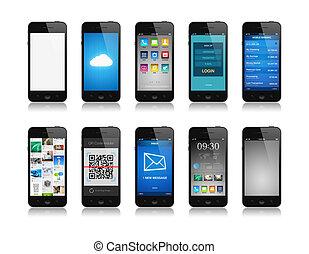 smartphone, collezione