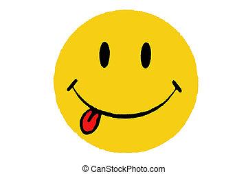 smiley, icona