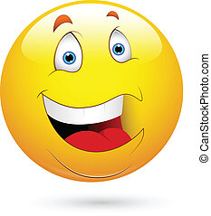 smiley, ridere, faccia