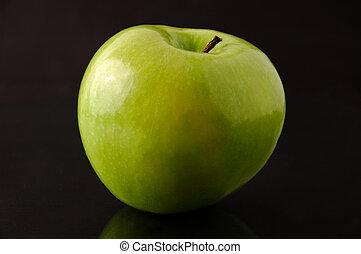 smith nonna, isolato, mela