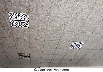 soffitto, illuminazione
