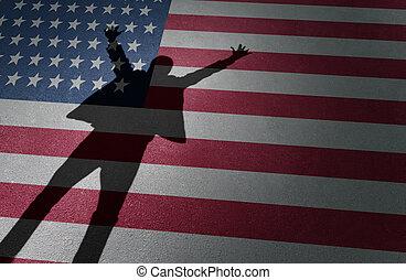 sogno americano, successo