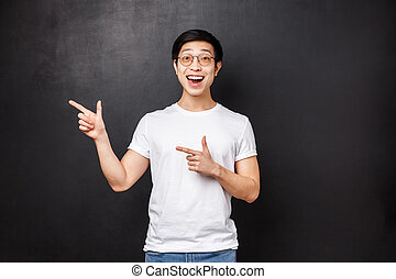 sogno, carriera, uomo, lavoro, aiuto, nero, ditta, asiatico, opportunità, eccellente, buono, tatto, dita, estero, applicare, studio, sorridente, applauso, indicare, fondo, eccitato, o, felice, sinistra, allegro, fondare