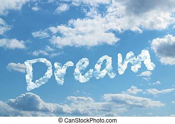 sogno, parola, nuvola