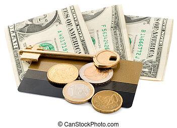 soldi, chiave scheda