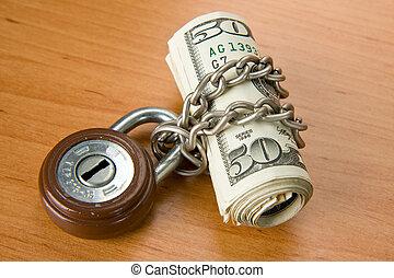 soldi, chiuso chiave