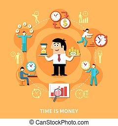 soldi, composizione, tempo