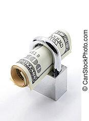 soldi, concetto, risparmio, assicurazione