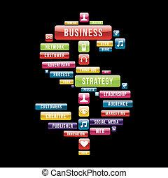 soldi, strategia, affari firmano