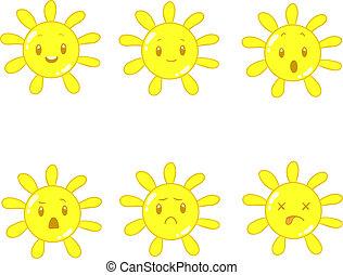 sole, cartone animato