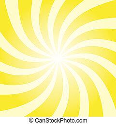 sole, giallo, scoppio